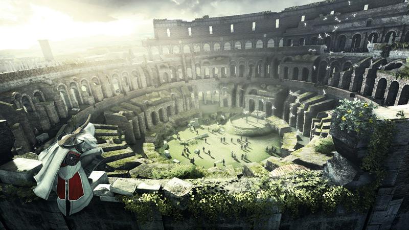 The impressive Colosseum.