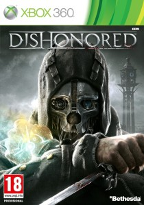 Dishonored Xbox 360 cover art