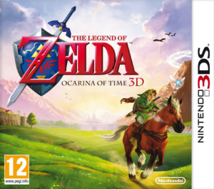 The Legend of Zelda Ocarina of Time box art