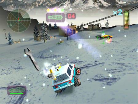 Vigilante 8 (Luxoflux, 1998, Playstation 1)