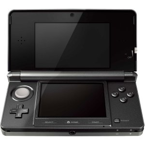 My new 3DS is back in black.
