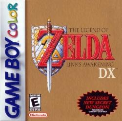 The Legend of Zelda Link's Awakening DX box