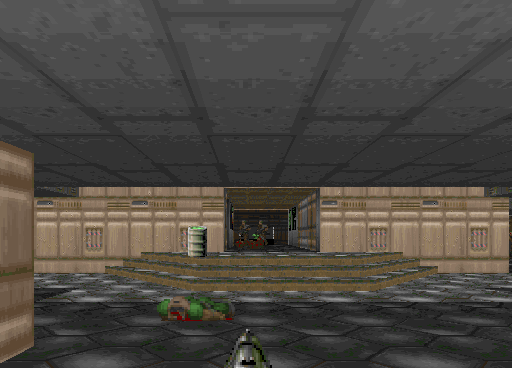 ...compared to the PC DOOM original.