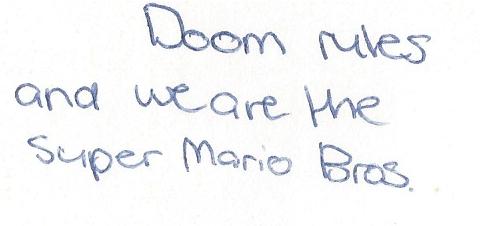 Mariomessage