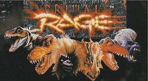Primal Rage GB Logo