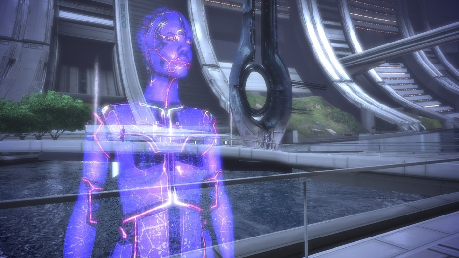 I was a bit surprised when Cortana showed up. Wrong game, surely?