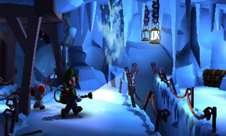 Yep, that's right, an ice mansion. Sort of.