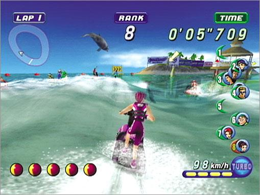 Wave Race Blue Storm GameCube
