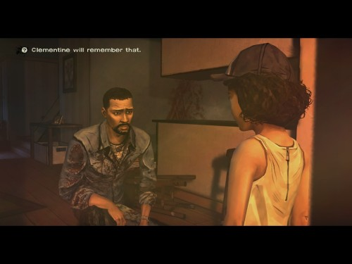 Walking Dead Clementine will remember that