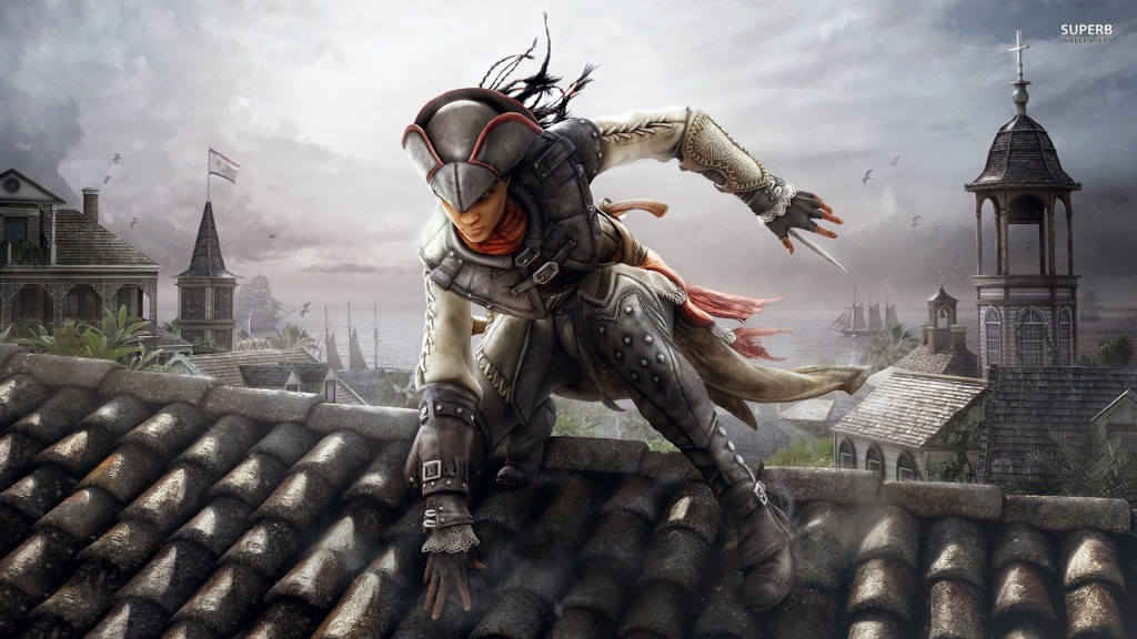Assassin's Creed: Liberation DID feature a female lead.
