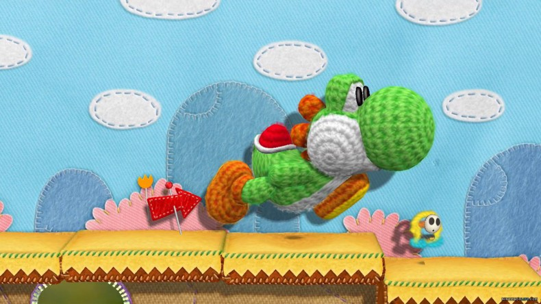 Yoshi's Woolly World - so cute it makes me want to throw up rainbows.