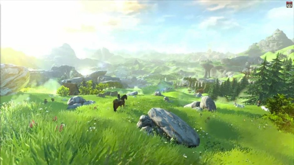 The new Zelda on Wii U - Nintendo claims this is all in-game footage. Wow.