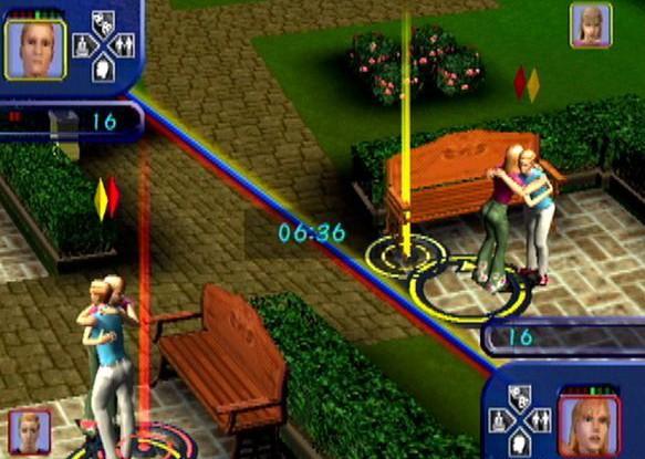SimsSplitscreenPS2
