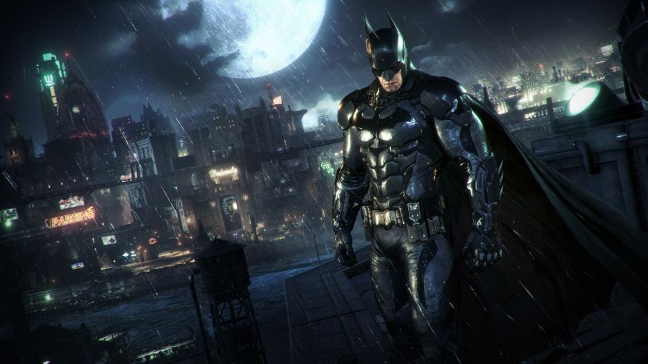 Well, I'll HAVE to get a PS4 for the new Batman game...