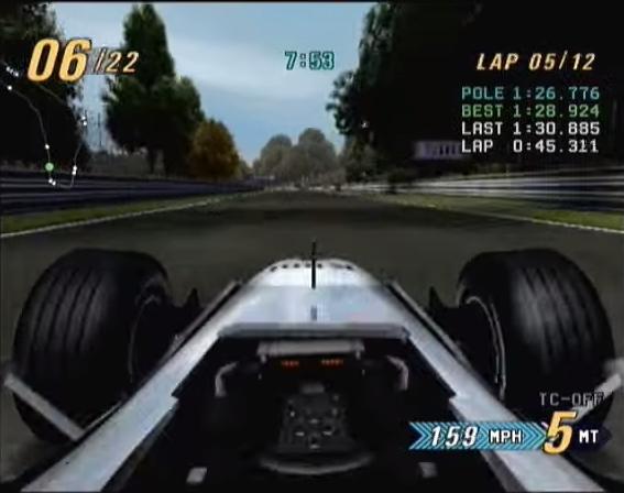 Grand Prix Challenge Screen