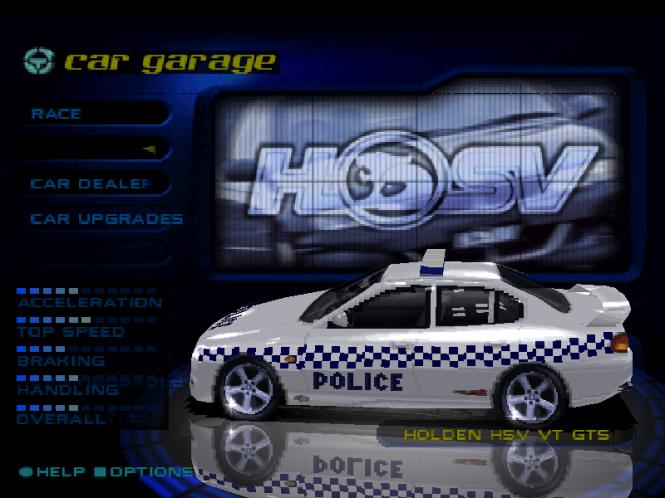 HSV Cop Car