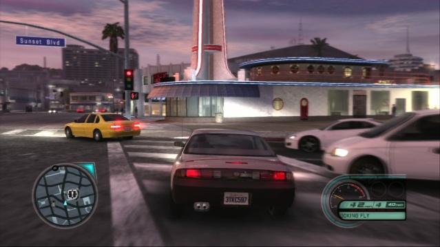 Midnight Club LA screen