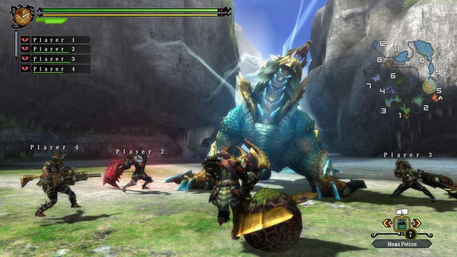 Big blue monsters + teamwork = great game