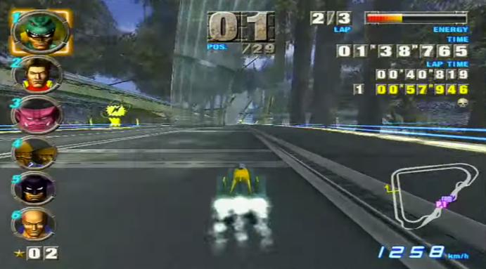 F-ZeroGX Screen