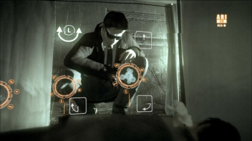 The alternative reality glasses that FBI agent Jayden uses are a great idea - they could make a whole game using this mechanic.