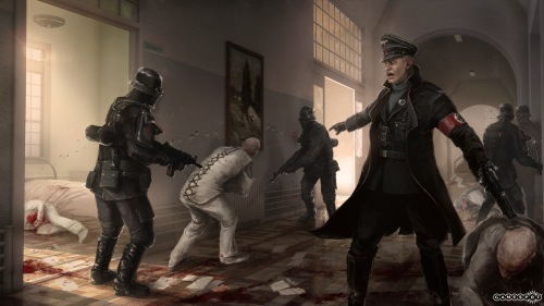 Wolfenstein the New Order mental asylum
