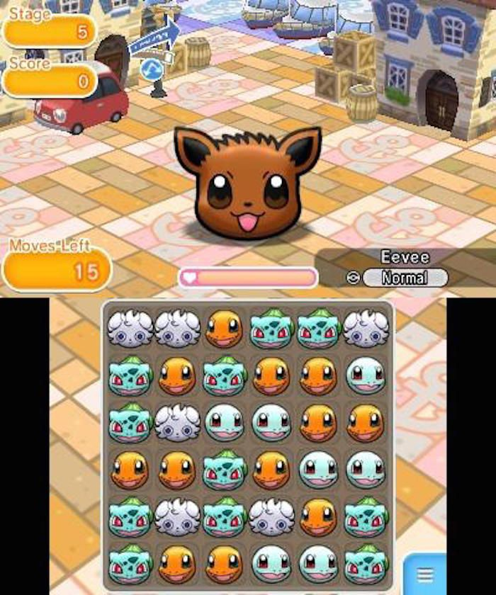 Pokemon Shuffle - Ready Wallet, Player One.