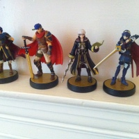 My Fire Emblem amiibo set is complete