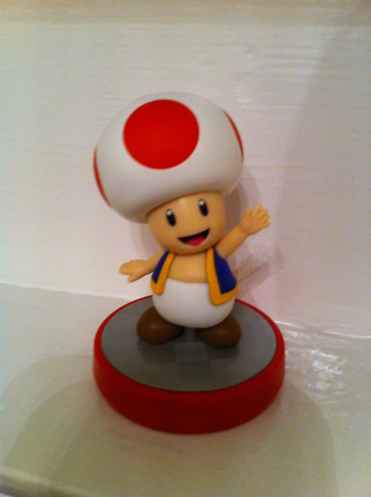 At least Toad's happy.