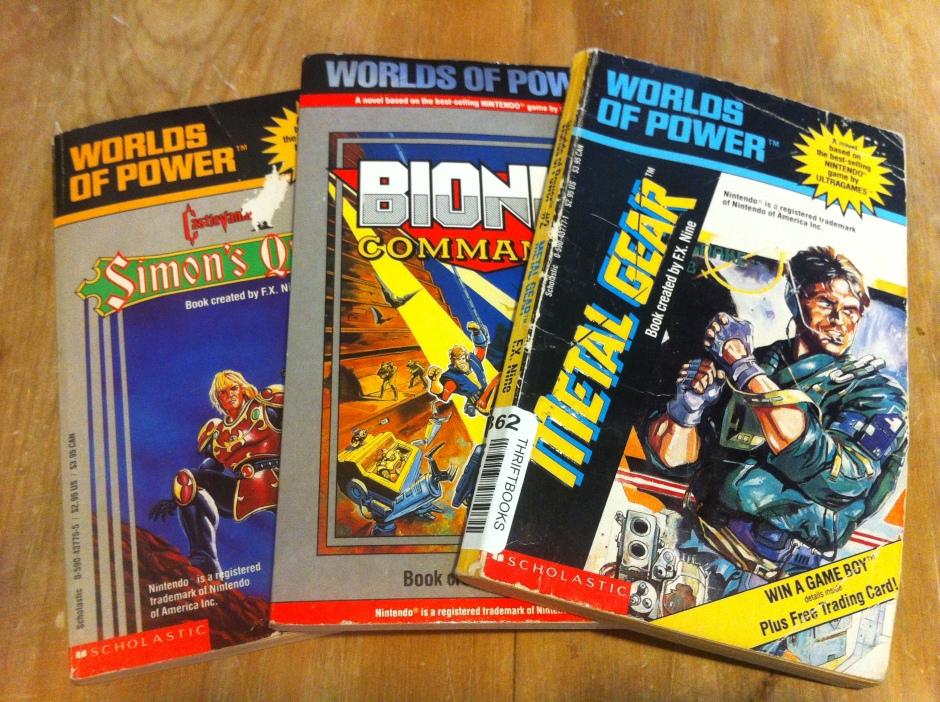 Worlds of Power novels