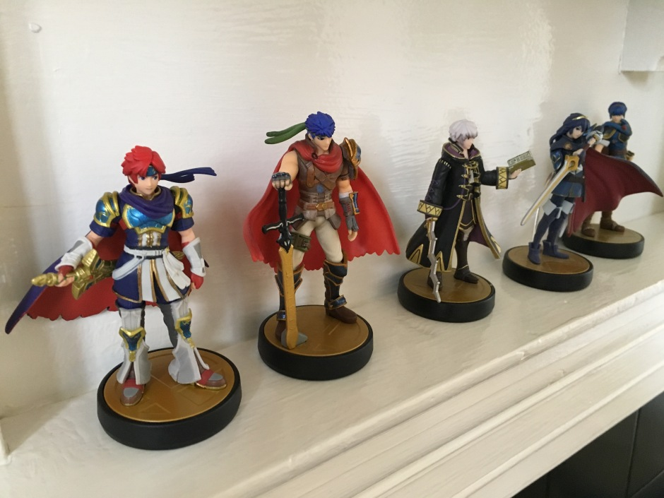 fire emblem amiibo collection