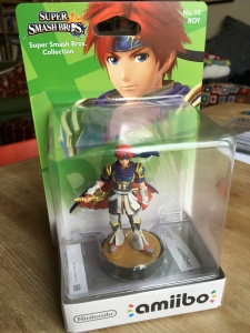 Roy amiibo in box