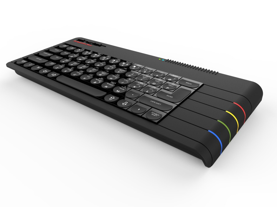 The beautiful ZX Spectrum Next, Image from http://www.specnext.com/