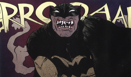 The artwork in Batman: Year 100 is just phenomenal. Check out more at http://paulpope.com/batman-100/