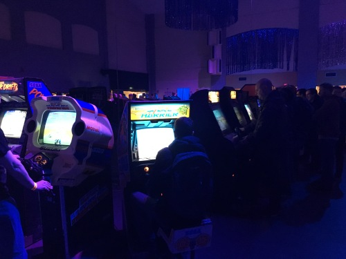 Arcade heaven.
