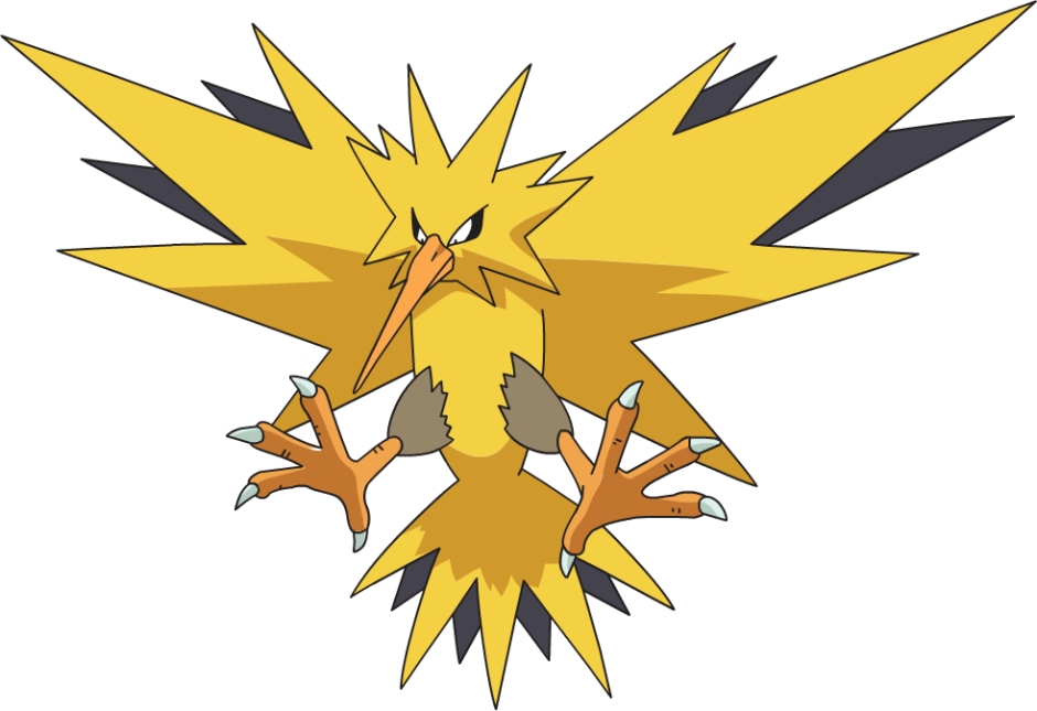 Zapdos: an evolved version of Woodstock.