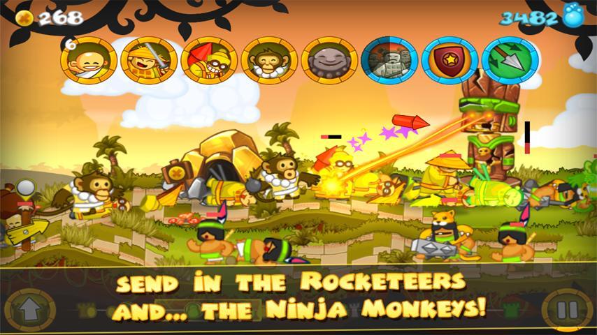 Ninja monkeys! Oh you guys.