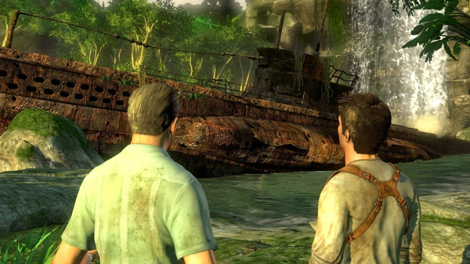 Uncharted Drakes Fortune submarine