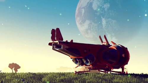 No Man's Sky is essentially a space shed.