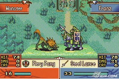 Franz starts off as a bit of a weed, so it's satisfying to see him grow up into an armoured death dealer.