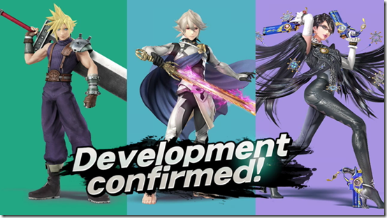 What happened to the Cloud, Corrin and Bayonetta amiibo?