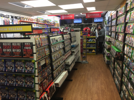 Grainger Games in Bishop Auckland - interior